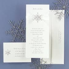 Snowflake Wedding Invitations Snowflake Wedding Invitation