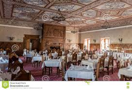 dining room in friedenstein castle editorial photo image 69680416