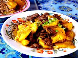 cuisine asiatique recette recette boeuf sauté à l ananas recettes asiatiques