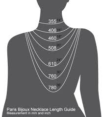 necklace length picture images Star cross rhodium necklace paris bijoux png