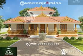 nalukettu house 2390 sq ft traditional nalukettu model exterior design