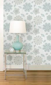 Peel And Stick Wallpaper Reviews by Nuwallpaper Nu1697 Gypsy Floral Blue Green Peel U0026 Stick Wallpaper