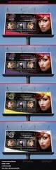 hair salon fashion style billboard signage modern nails