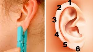 seconds earrings put a clothespin on your ear for 5 seconds you will be surprised
