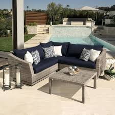 Striped Patio Chair Cushions by Navy Blue Patio Furniture U2013 Bangkokbest Net