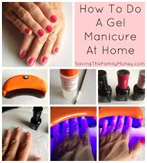 saving money on beauty at home gel manicures saving the family