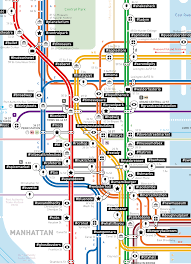 Times Square Map These Cool Subway Maps Show The Most Popular Instagram S Around