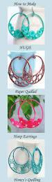 best 25 paper earrings ideas on pinterest paper jewelry diy