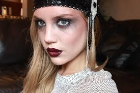Dead Halloween Makeup by Dead Zombie Flapper Elanna Pecherle