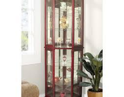 Modern Corner Curio Cabinet Dazzling Design Cabinet Components Bessemer Dazzling Cabinet Tops