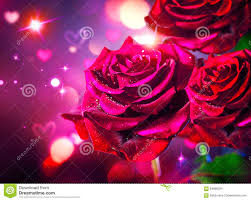 roses and hearts roses and hearts background valentines day stock photo image