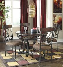 glambrey round 5 piece dining set by signature design