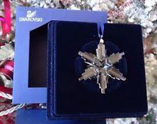 Swarovski Christmas Ornaments 2011 Annual Star Collection by Swarovski Annual Ornament Ebay