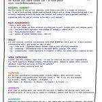 teenage resume template australia example of resume for teenager