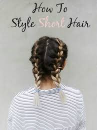 5 ways to style short hair p s minimalist