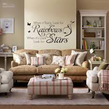 Bedroom Wall Letter Stickers When It Rains Look For Rainbows When It U0027s Dark Look For Stars