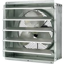 Triangle Fans Direct Drive General Purpose Exhaust Fan — 24in 1