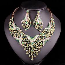 indian wedding necklace images Fashion indian bridal jewelry sets wedding necklace earring sets jpg