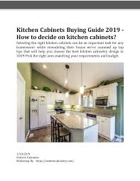 best kitchen cabinets 2019 kitchen cabinets buying guide in 2019