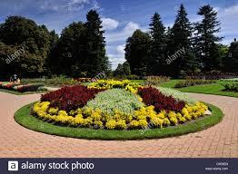 Niagara Botanical Garden Flower Beds In The Niagara Botanical Garden Garden Area