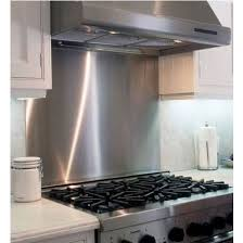 Kitchens With Stainless Steel Backsplash Kitchen Backsplash Vent Wall Backsplash With Universal Cook