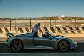 porsche 918 spyder shakedown cruise 1082 miles the first ever road trip in the