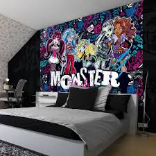 monster high home decor nice monster high queen bedroom set on interior decor home ideas