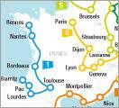 rail europe map travel europe rail travel europe