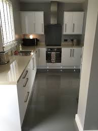 kitchen bathroom wickes infinity grey polished porcelain tile 600