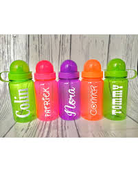 party cups deal on one plastic water bottle personalized kids water