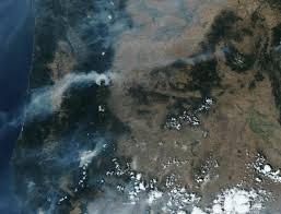 Oregon Fires Map Wildfire Information Lane Regional Air Protection Agency Or
