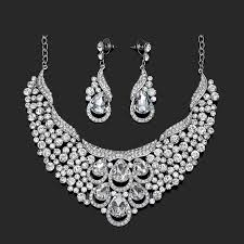 silver bridal necklace images 12 best luxury in silver necklaces images diy jpg
