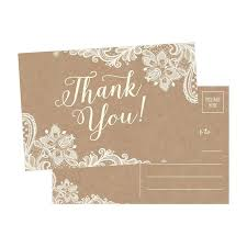 thank you postcards top 10 best wedding thank you cards heavy