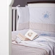 peter rabbit 3 piece bedding cot set quilt bumper fitted sheet