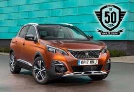 new peugeot cars 2017 all new peugeot 3008 suv honoured in the diesel car top 50 awards