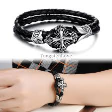 christian bracelet compare prices on leather christian bracelets online shopping buy