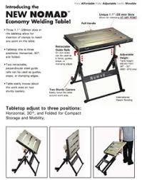 Folding Welding Table Folding Welding Table Woodworking And Shop Ideas Pinterest