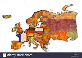 Political Map Of Europe political map of europe with flags of memeber countries of