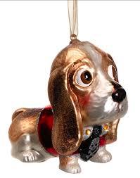 basset hound ornament deizinz