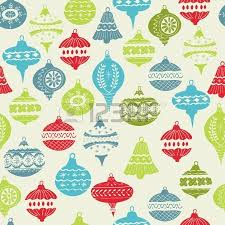 vintage christmas background with christmas tree balls for