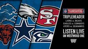 thanksgiving nfl on westwood one westwood one sportswestwood one
