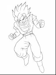 fabulous dragon ball goku coloring pages to print with goku