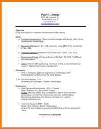 Resume For Technical Jobs by 7 Example Of Resumes For Jobs Mailroom Clerk