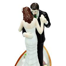 custom wedding cake toppers and groom row away wedding in rowboat wedding cake topper