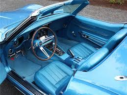 1968 corvette interior 1968 chevrolet corvette convertible 96669