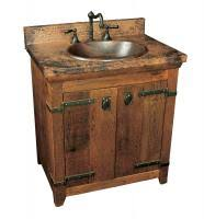 shop rustic bathroom vanities and sinks single and sinks