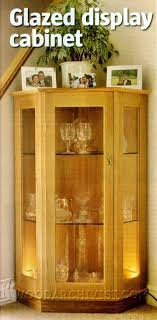 curio display cabinet plans glazed display cabinet plans furniture plans and projects