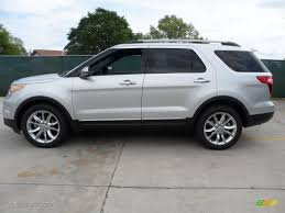 ford 2013 explorer ingot silver metallic 2013 ford explorer limited exterior photo
