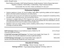 Radiologic Technologist Resume Sample by Radiologic Technologist Resume Templates Ecordura Com