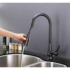 ruvati rvf1252rb pullout spray single handle kitchen faucet u2013 oil